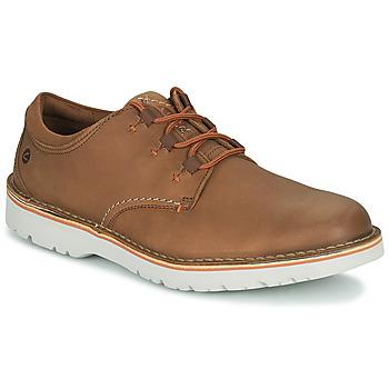 Topánky Muži Derbie Clarks EASTFORD LOW Ťavia hnedá