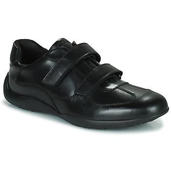 Topánky Muži Derbie Clarks KONRAD EASE Čierna