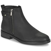 Topánky Ženy Polokozačky Clarks MEMI LO Čierna