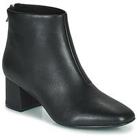 Topánky Ženy Čižmičky Clarks SHEER55 ZIP Čierna
