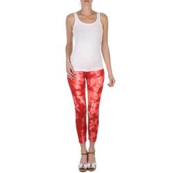 Oblečenie Ženy Nohavice 7/8 a 3/4 Eleven Paris DAISY Červená / Biela