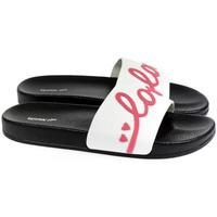 Topánky Ženy športové šľapky Wink Dámske biele šľapky  LOVE biela