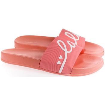 Topánky Ženy športové šľapky Wink Dámske ružové šľapky  LOVE ružová