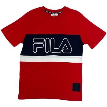 Oblečenie Deti Tričká s krátkym rukávom Fila 688138 Červená