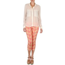 Oblečenie Ženy Nohavice 7/8 a 3/4 Manoush PANTALON GIPSY JEANS Ružová