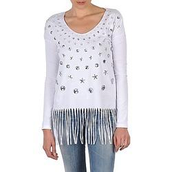 Oblečenie Ženy Tričká s dlhým rukávom Manoush TUNIQUE LIANE Biela