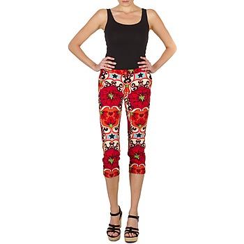 Oblečenie Ženy Nohavice 7/8 a 3/4 Manoush PANTALON POPPY Červená