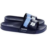 Topánky Muži športové šľapky Wink Pánske modré šľapky  NYC tmavomodrá