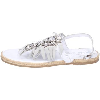 Topánky Dievčatá Sandále Holalà BH20 Biela