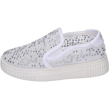 Topánky Dievčatá Slip-on Holalà BH22 Biela
