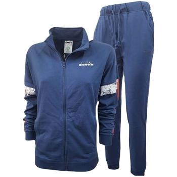 Oblečenie Muži Súpravy vrchného oblečenia Diadora Fz Core Modrá