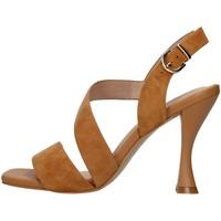 Topánky Ženy Sandále Luciano Barachini GL263R BROWN