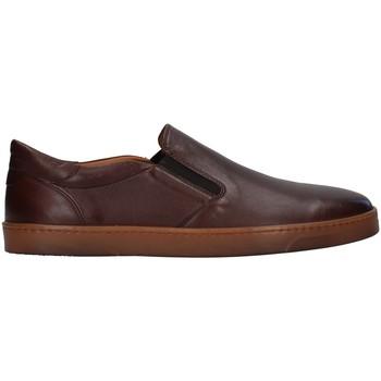 Topánky Muži Mokasíny Rossano Bisconti 353-10 BROWN