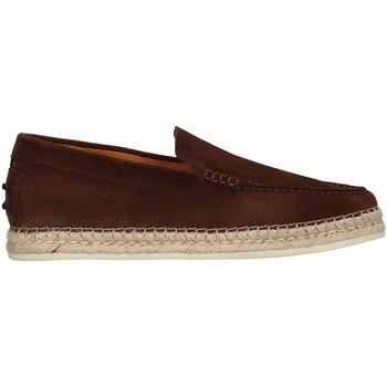 Topánky Muži Mokasíny Rossano Bisconti 462-01 BROWN
