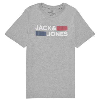 Oblečenie Chlapci Tričká s krátkym rukávom Jack & Jones JJECORP LOGO TEE SS Šedá
