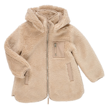 Oblečenie Dievčatá Kabáty Only KONSASCHA Béžová