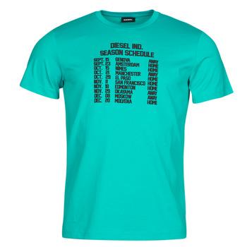 Oblečenie Muži Tričká s krátkym rukávom Diesel T-DIEGOS Modrá