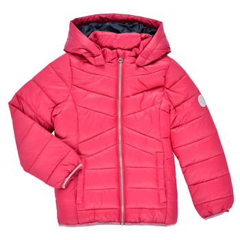 Oblečenie Dievčatá Vyteplené bundy Name it NMFMOBI JACKET Ružová