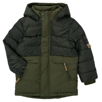 Oblečenie Chlapci Parky Name it NKMMANUEL JACKET Kaki