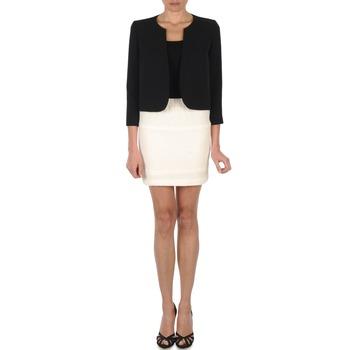 Oblečenie Ženy Sukňa Lola JUMBO CORDONNETTO Slonia kosť