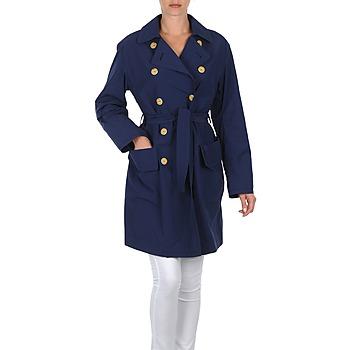 Oblečenie Ženy Kabátiky Trenchcoat Lola MALIN VENTO Námornícka modrá