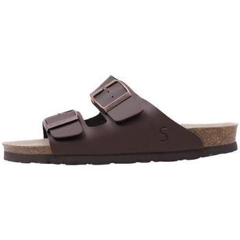 Topánky Ženy Šľapky Senses & Shoes  Hnedá