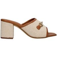 Topánky Ženy Šľapky Paola Ferri D7431 BEIGE