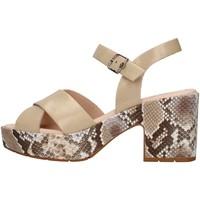 Topánky Ženy Sandále CallagHan 28800 BEIGE