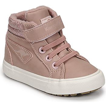 Topánky Dievčatá Členkové tenisky Kangaroos KAVU III Ružová