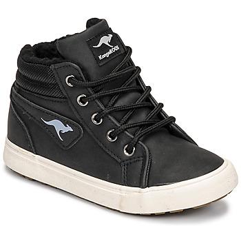 Topánky Chlapci Členkové tenisky Kangaroos KAVU I Čierna