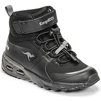 Topánky Chlapci Členkové tenisky Kangaroos KX-HYDRO Čierna