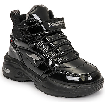 Topánky Dievčatá Členkové tenisky Kangaroos KC-ICY EV RTX Čierna