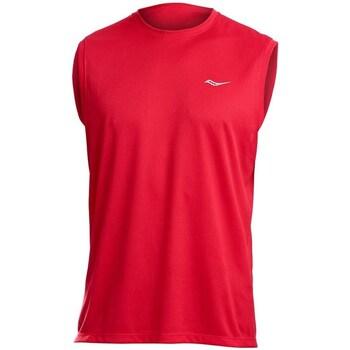 Oblečenie Muži Tielka a tričká bez rukávov Saucony SAM800216 Červená