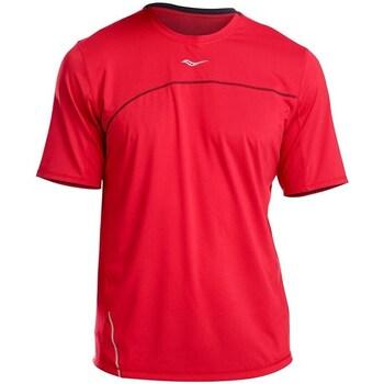 Oblečenie Muži Tričká s krátkym rukávom Saucony SAM800214 Červená