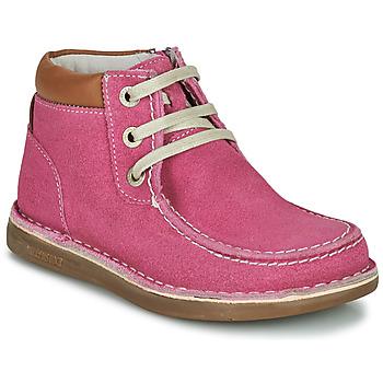 Topánky Dievčatá Polokozačky Birkenstock PASADENA HIGH KIDS Ružová