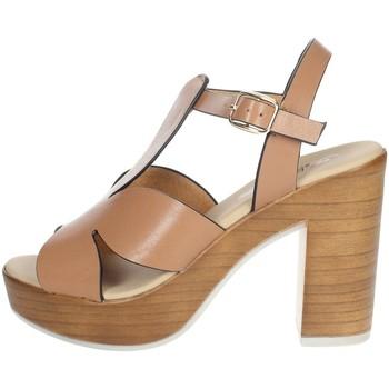 Topánky Ženy Sandále Repo 56247-E1 Brown leather