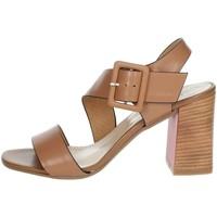 Topánky Ženy Sandále Repo 31634-E1 Brown leather