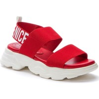 Topánky Muži Sandále Betsy Red Casual Flat Sandals Red