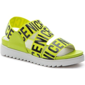 Topánky Muži Sandále Betsy Yellow Casual Flat Sandals Yellow
