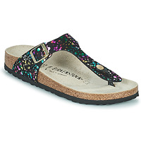Topánky Dievčatá Žabky Birkenstock GIZEH Čierna / Viacfarebná