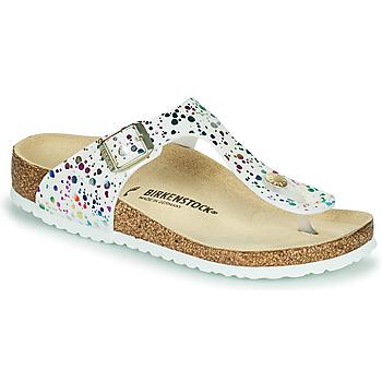 Topánky Dievčatá Žabky Birkenstock GIZEH Biela / Viacfarebná