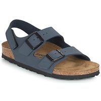Topánky Chlapci Sandále Birkenstock MILANO HL Námornícka modrá