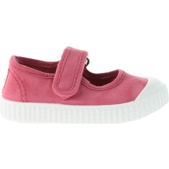 Topánky Deti Tenisová obuv Victoria Baskets enfant  1915 mercedes toile teintée rose