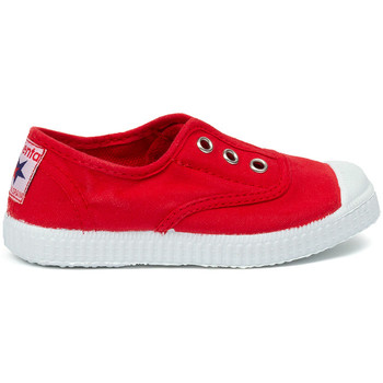 Topánky Deti Tenisová obuv Cienta Chaussures en toiles  Tintado rouge
