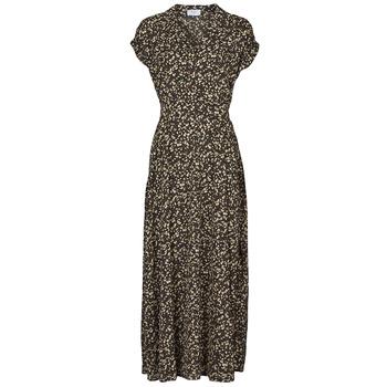 Oblečenie Ženy Dlhé šaty Betty London  Čierna / Viacfarebná