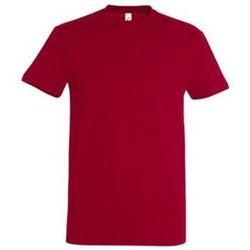 Oblečenie Ženy Tričká s krátkym rukávom Sols IMPERIAL camiseta color Rojo Tango Rojo