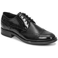 Topánky Muži Derbie Carlington LOUVIAN Čierna