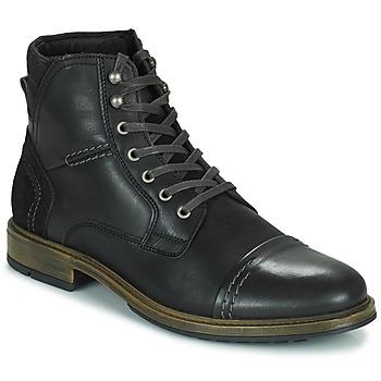 Topánky Muži Polokozačky Casual Attitude HOKES Čierna