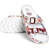 Topánky Ženy Šľapky Batz Dámske kožené kvetinové šľapky ZENNA mix