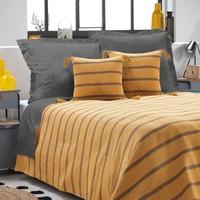 Domov Prehozy na posteľ Douceur d intérieur JAKADY Žltá